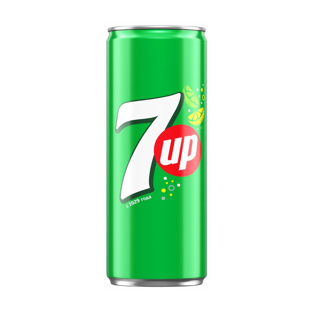Напиток газированный, 7 Up, 0,25 л