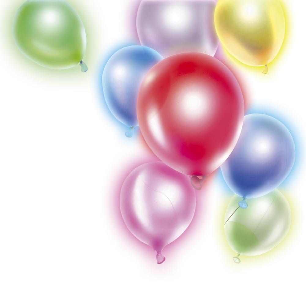 Светящиеся в темноте воздушные шары, Party, 3 шт., в ассортименте