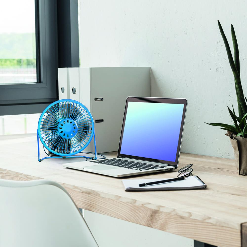 Мини-вентилятор с кабелем USB, Flarx, в ассортименте