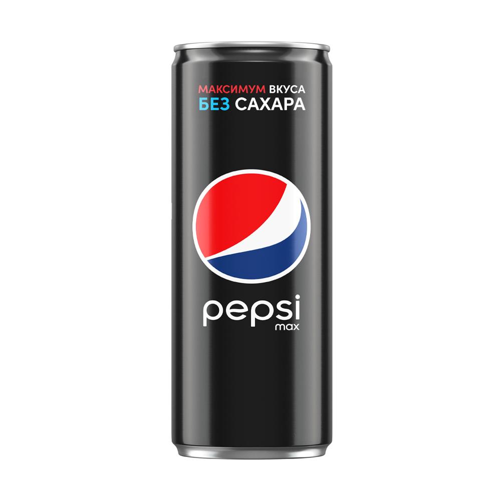 "Напиток газированный ""Max"", Pepsi, без сахара, 0,25 л"