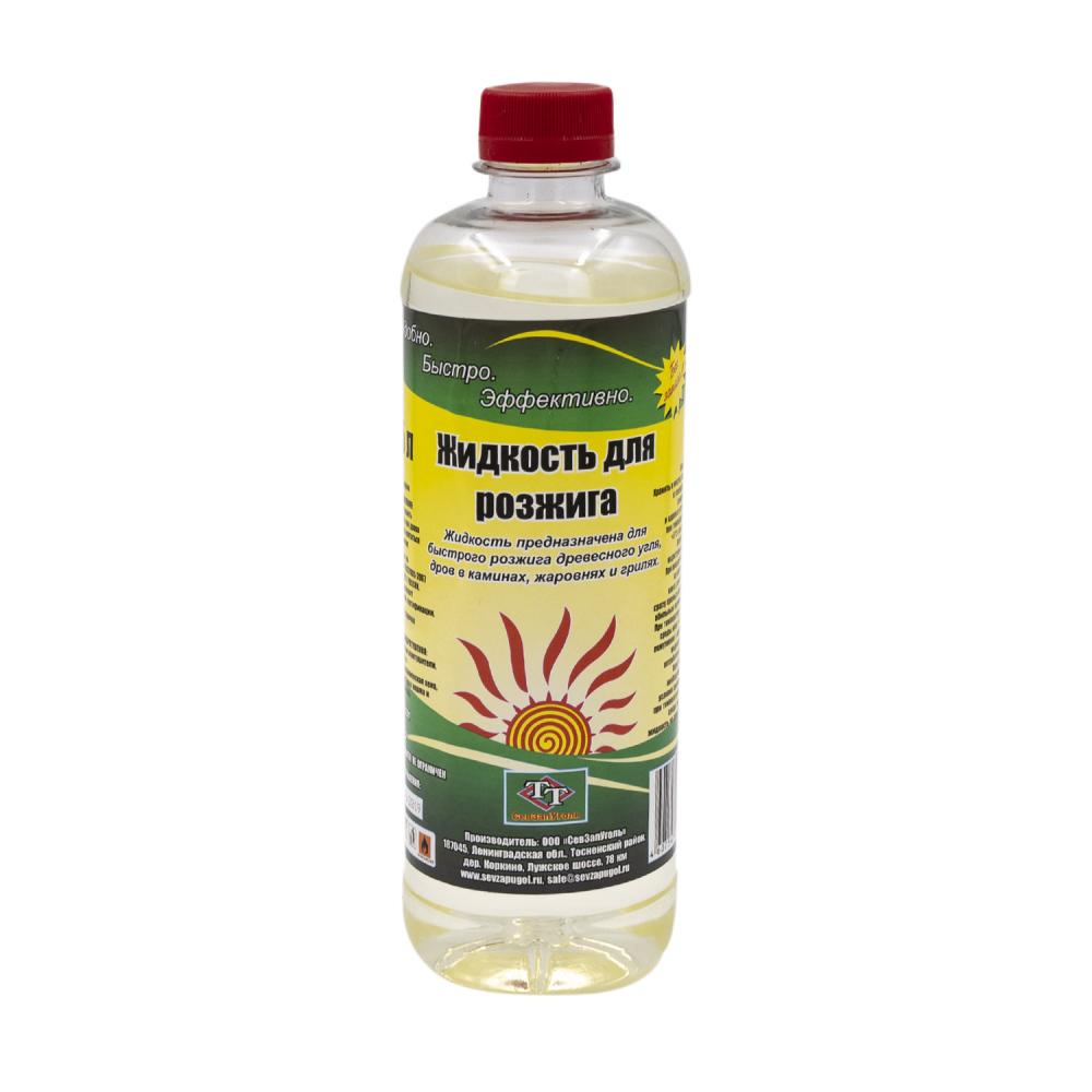 Жидкость для розжига, 0,5 л