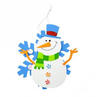 """Детский набор """"Собери ёлочную игрушку"""", Снежное кружево, 16 шт., в ассортименте"""