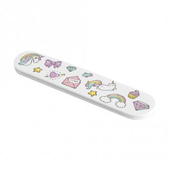 Пилочка для ногтей, Lovely, 3 шт., в ассортименте