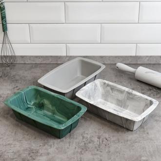"Форма для выпечки ""Мрамор"", O'Kitchen, 24,5х14,5 см, в ассортименте"