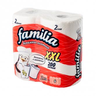 Бумажные полотенца  XXL, 2 слоя, 2 рулона
