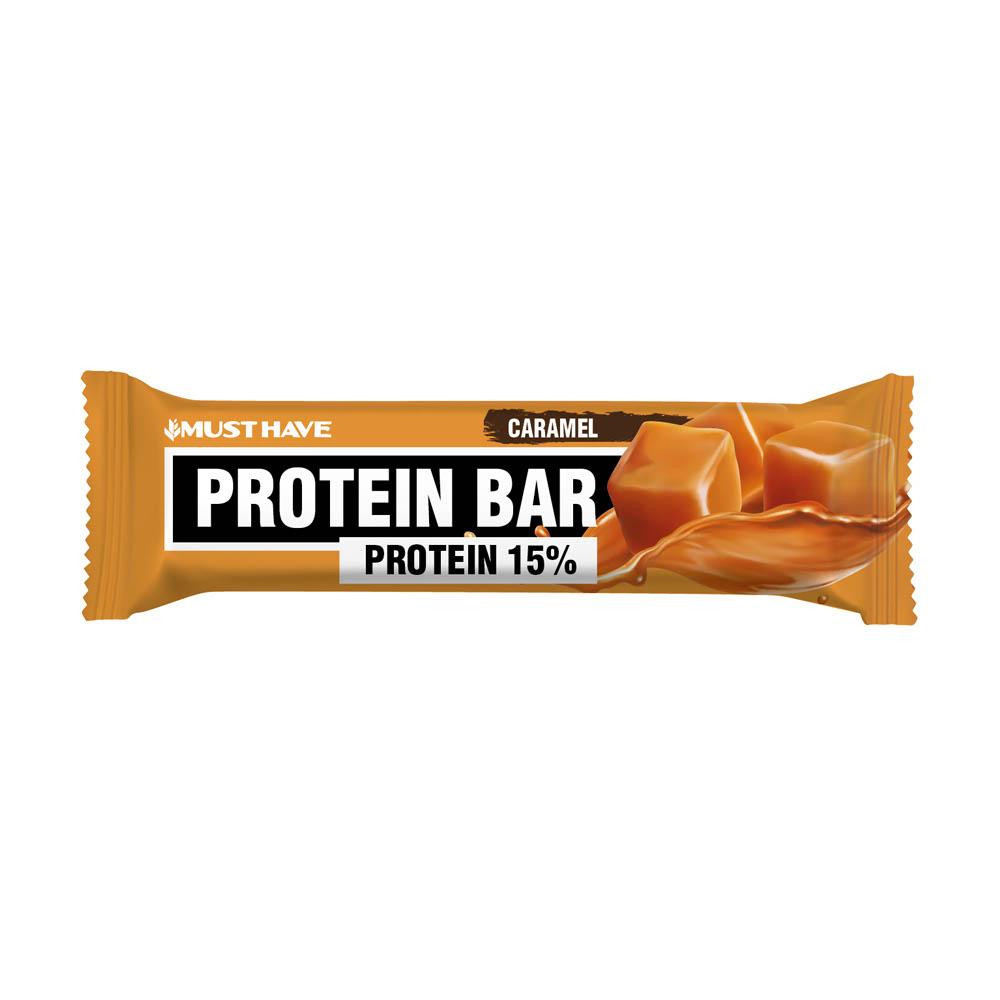 "Батончик ""Protein Bar"", MUST HAVE, карамель, 50 г"