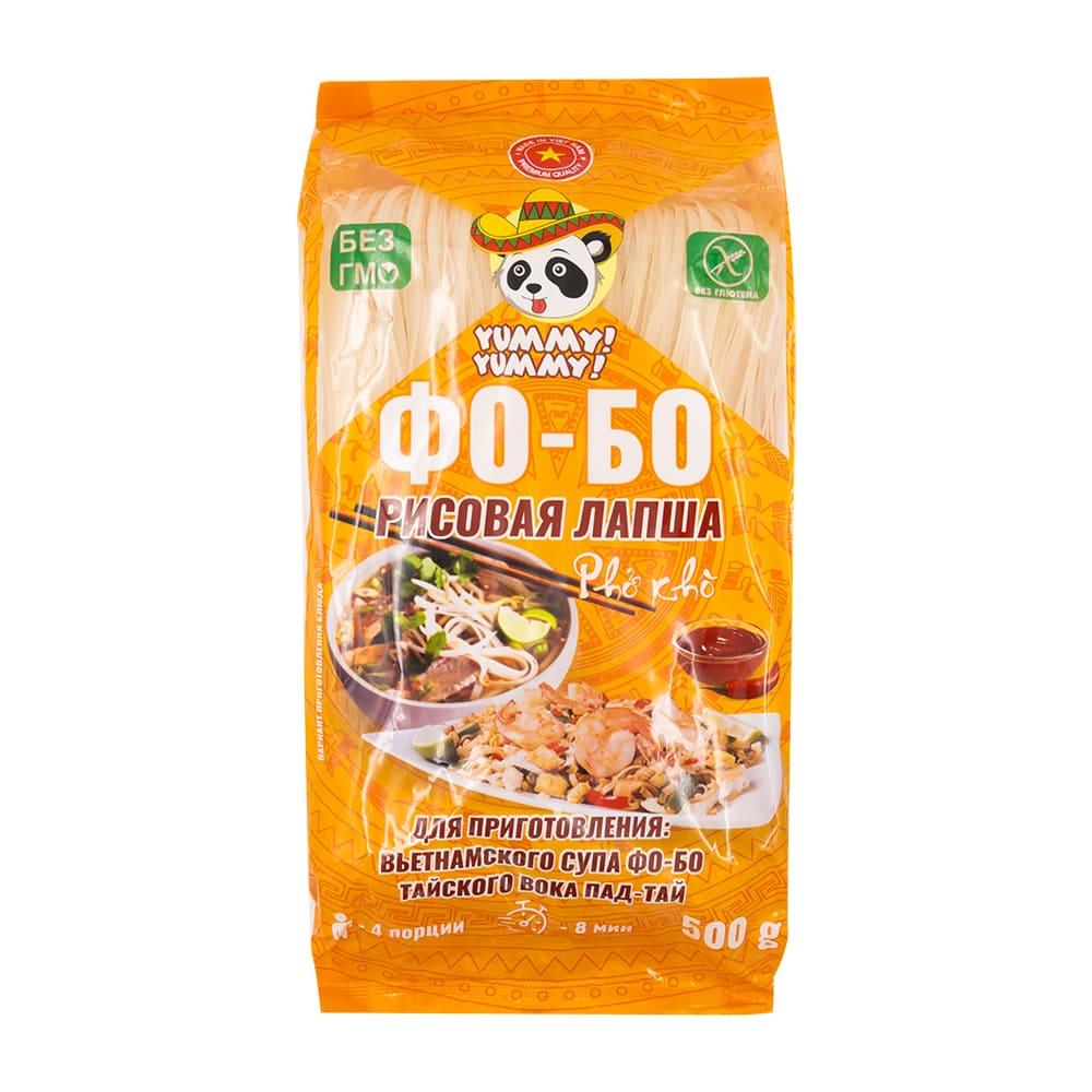 Рисовая лапша Фо-Бо, Ями-Ями, 500 г, в ассортименте