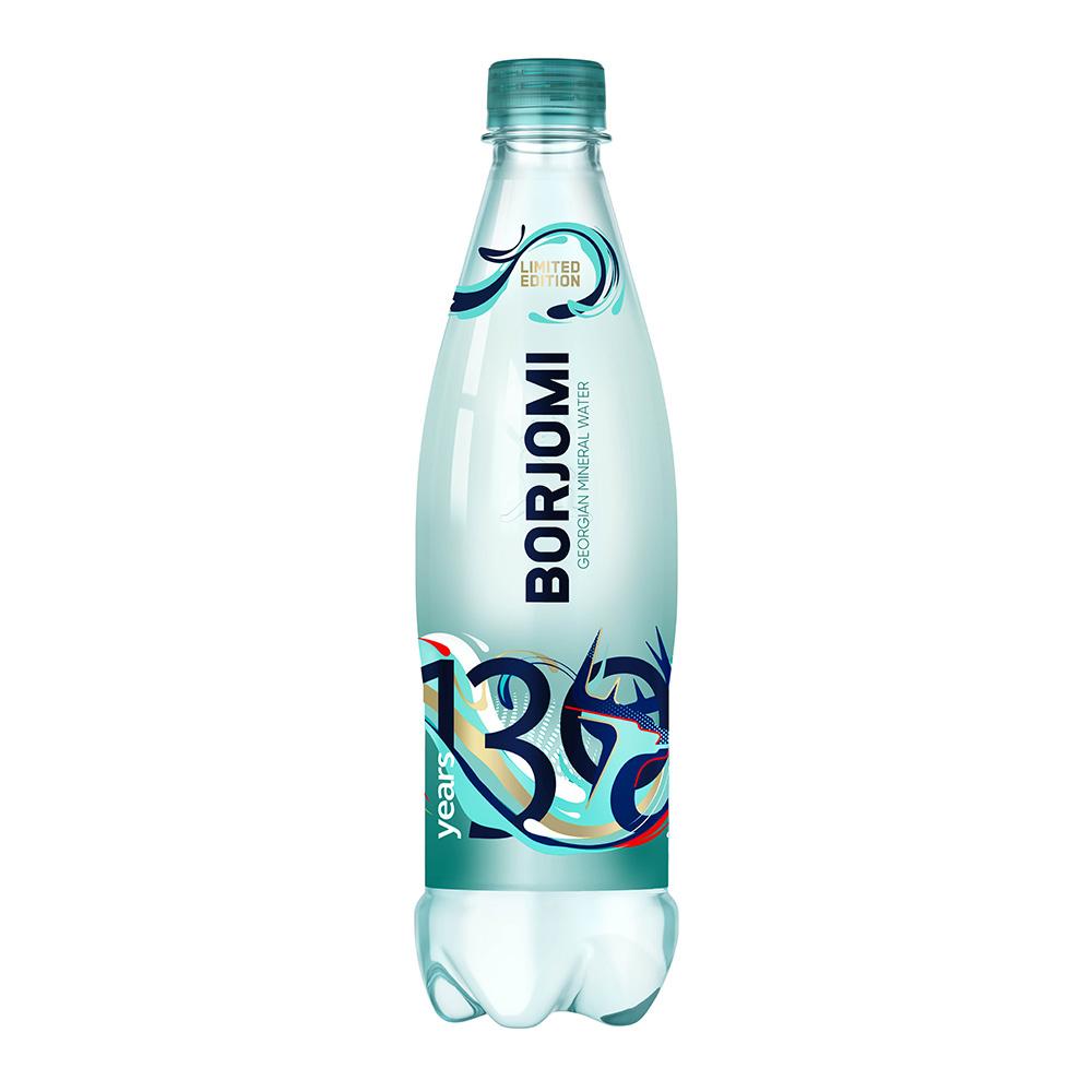 Вода минеральная, BORJOMI, 0,5 л