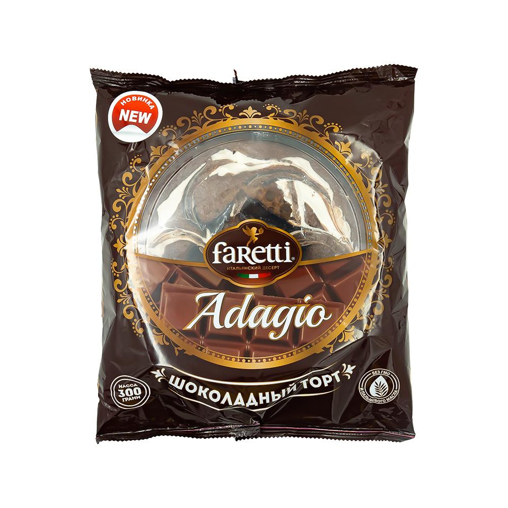 Торт бисквитный, Faretti, 300 г
