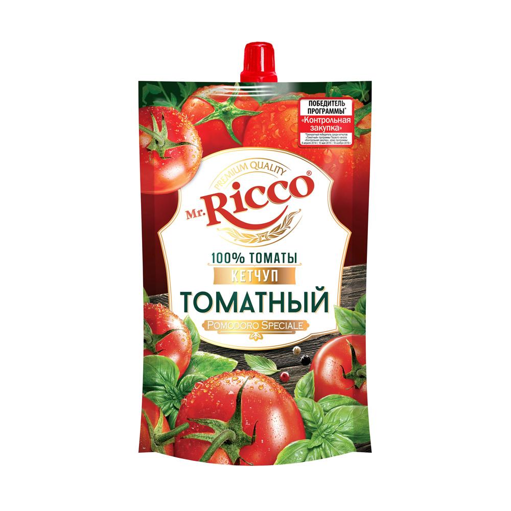 Кетчуп томатный, Mr. Ricco, 220 г