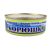 Корюшка с овощным гарниром в томатном соусе, 230 г