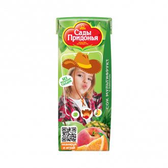 Сок мультифруктовый, 0,2 л, ЛК: 1540208: купить в Москве и РФ, цена, фото, характеристики