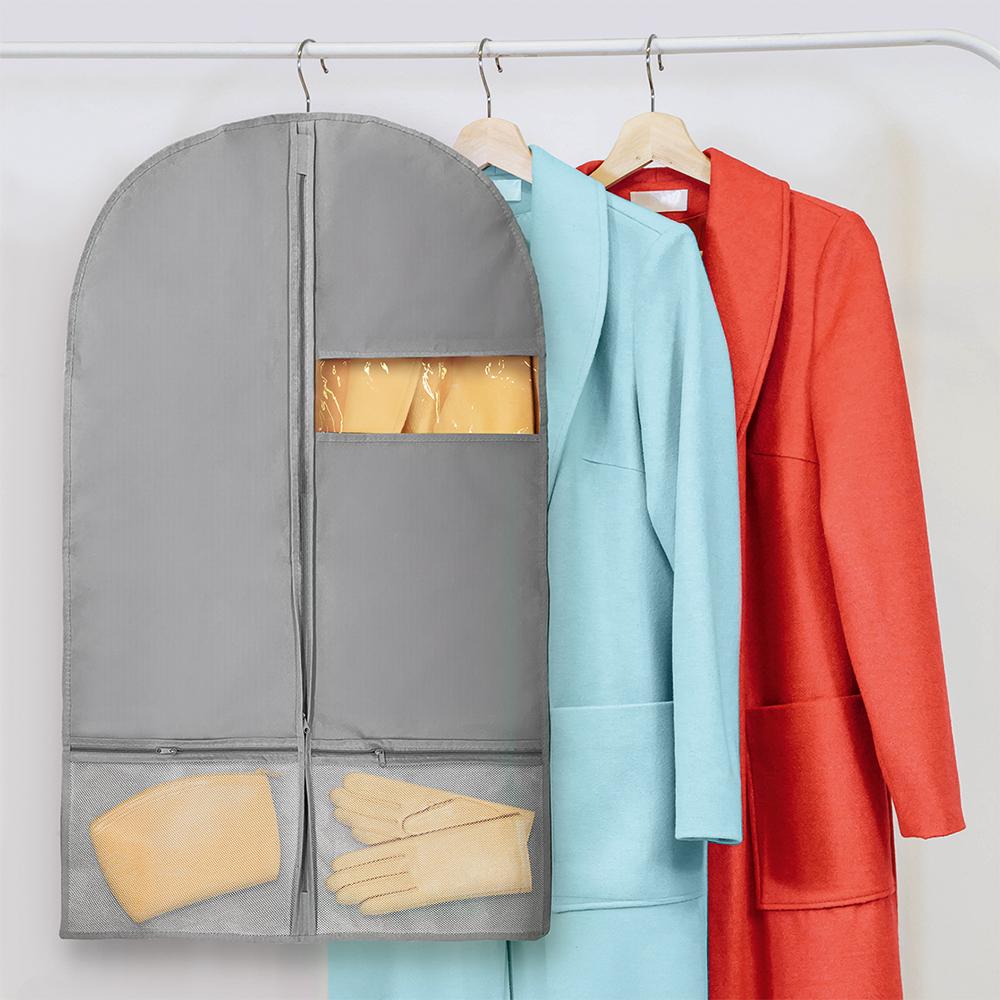 Чехол для одежды с карманом, Home Time, 60х100 см, в ассортименте