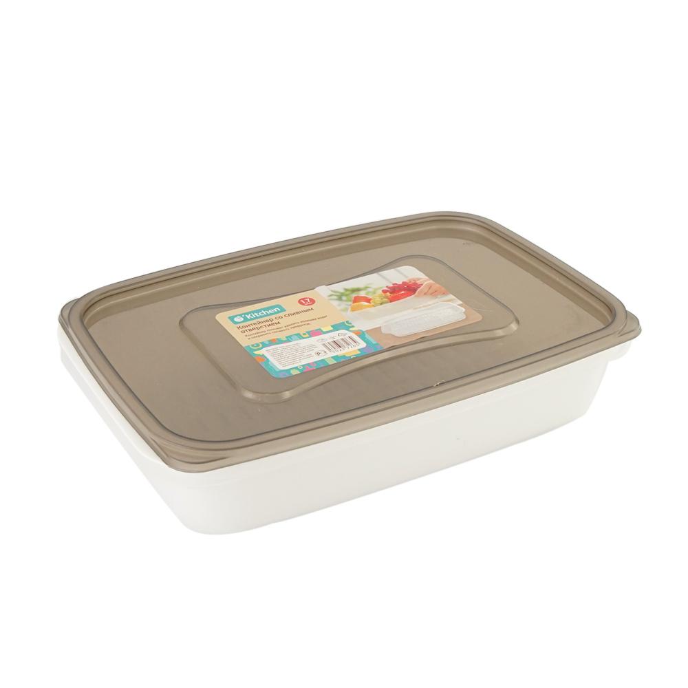 Контейнер со сливным отверстием, O'Kitchen, 1,7 л, в ассортименте