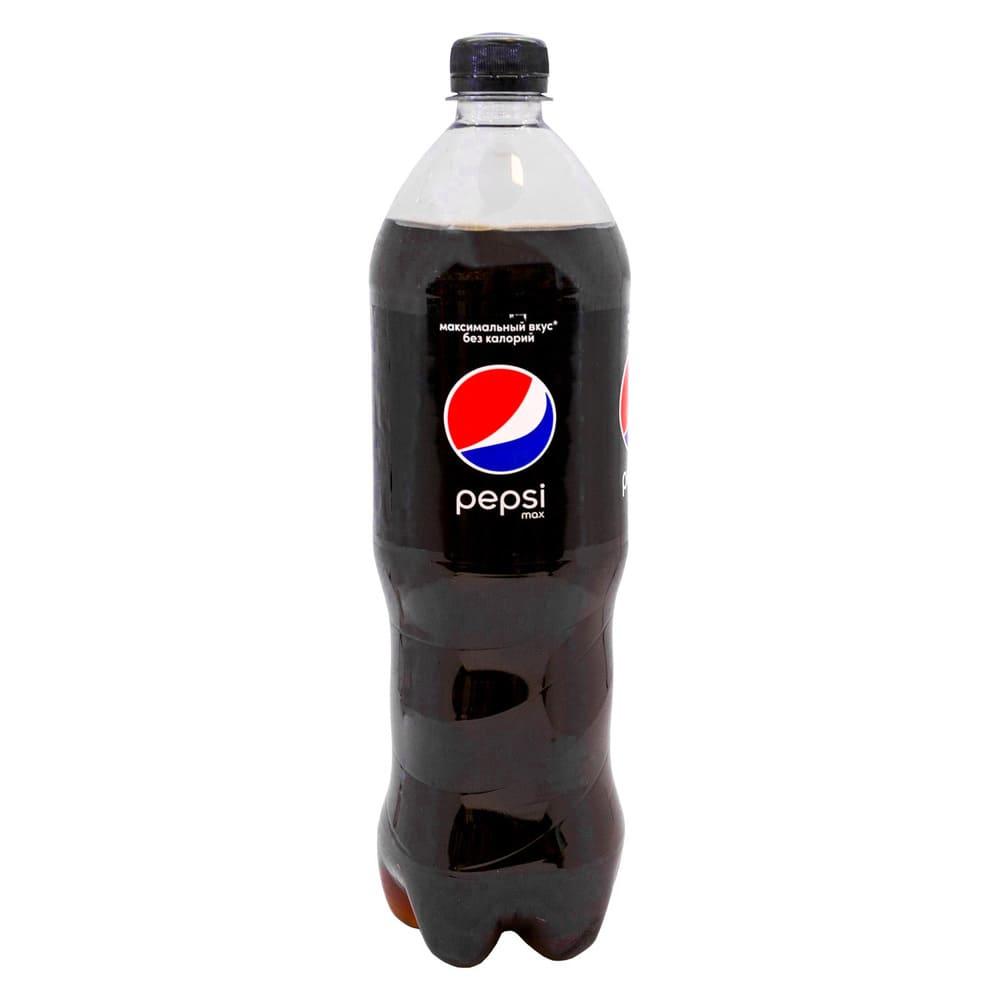 Напиток газированный безалкогольный, Pepsi, без калорий, 1 л