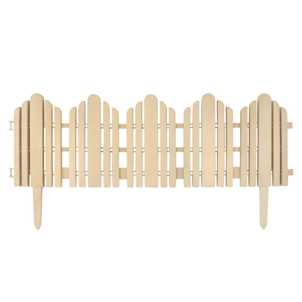 Заборчик садовый пластиковый 58,5*29 см