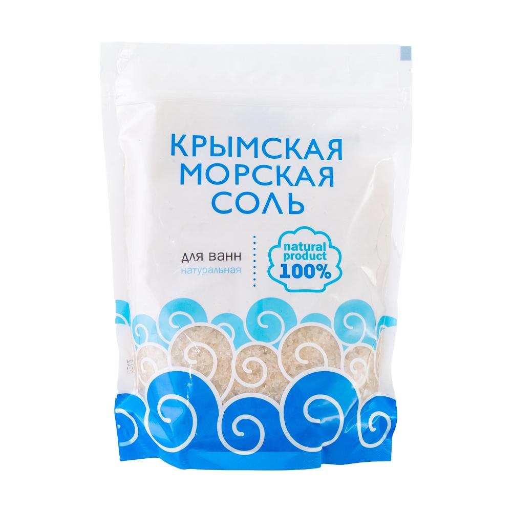 Крымская морская соль для ванн, 1100 г, в ассортименте