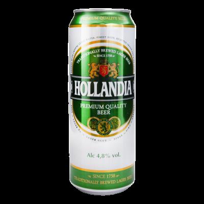 Пиво, Hollandia, 4,8%, 0,45 л