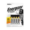 Щелочные батарейки Energizer, ААА, 4 шт