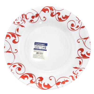 Тарелка глубокая JAZZY RED, Ø21 см