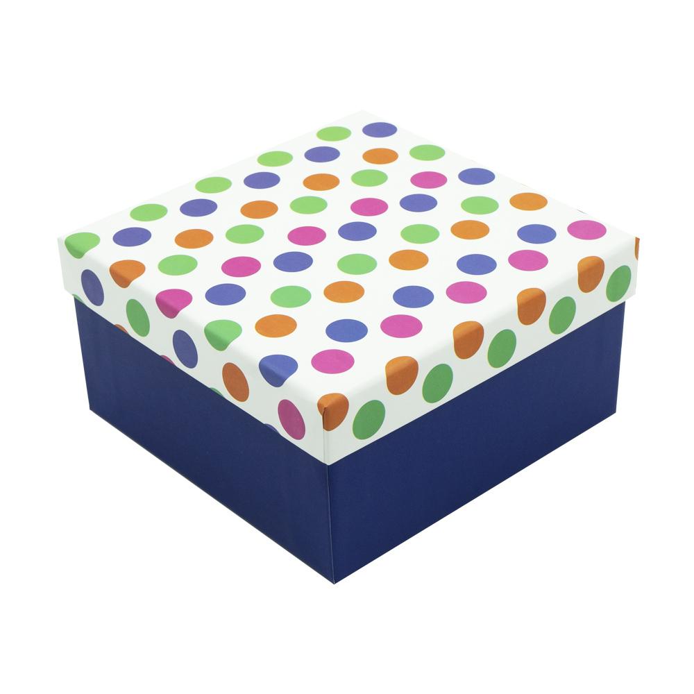 Подарочная коробка, Party, 12,5х12,5х6,5 см, в ассортименте