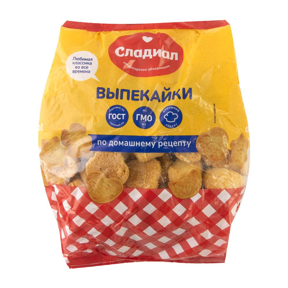 """Печенье сдобное """"Выпекайки"""", Сладиал, 600 г"""