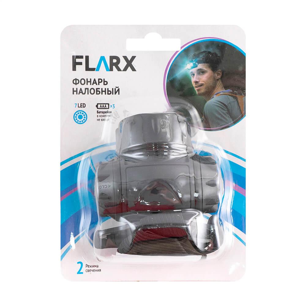 Фонарь налобный, Flarx, в ассортименте