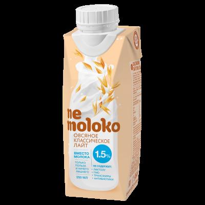 Напиток, Nemoloko, овсяное классическое, лайт, 0,25 л
