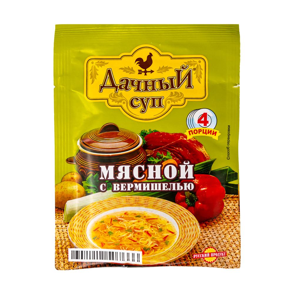 """Суп """"Дачный"""", мясной с вермишелью, 60 г"""
