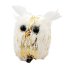 """Декорация ёлочная """"Птички"""" на клипсе, Снежное кружево, 2 шт., в ассортименте"""