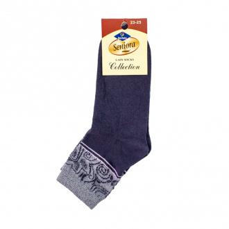 Носки женские укороченные, Seniora, в ассортименте