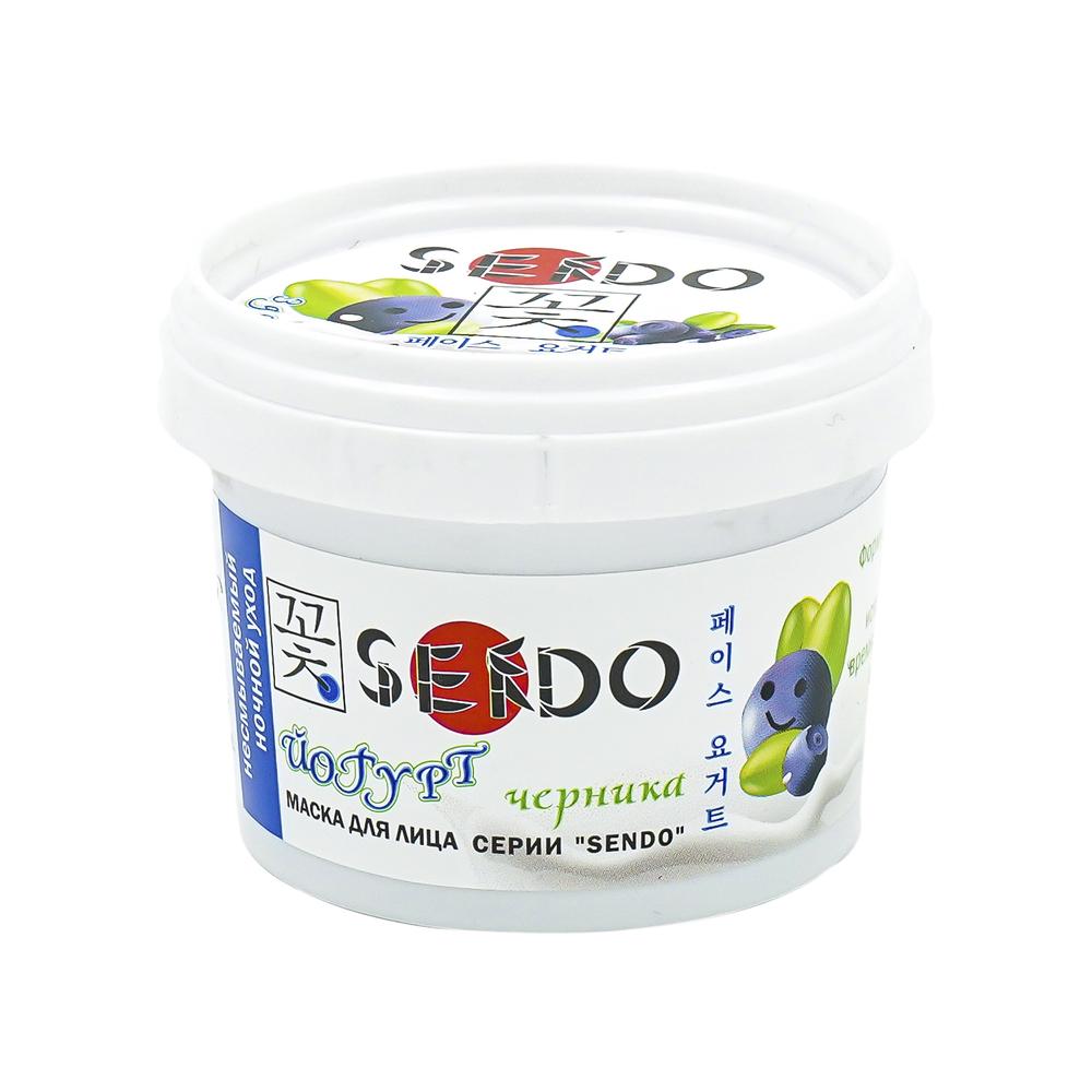 Маска для лица,Йогурт, Sendo, 100 мл