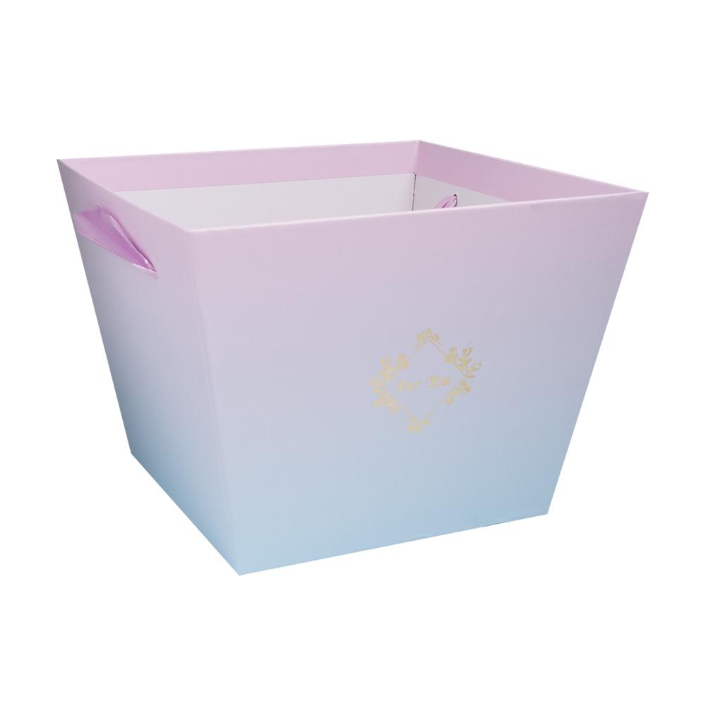 Коробка для цветов и подарков, в ассортименте