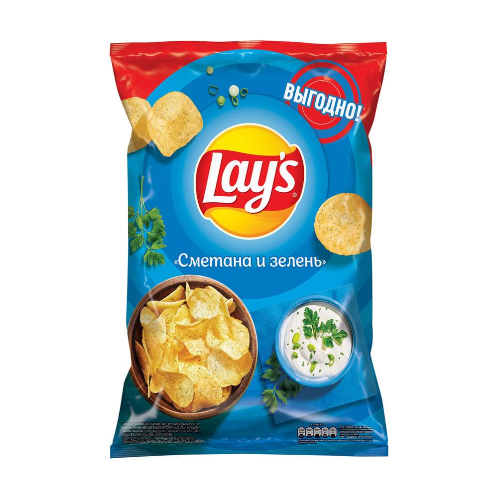 Картофельные чипсы, Lay's, 210 г, в ассортименте