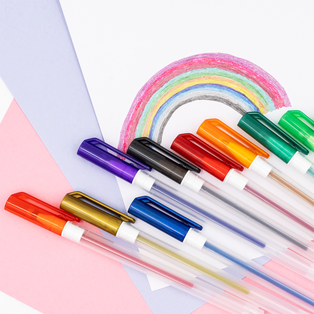 Набор цветных гелевых ручек, Kid's Fantasy, 12 шт., в ассортименте
