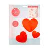 """Набор интерьерных декоративных наклеек """"Сердечки"""", With Love, 16 шт,  в ассортименте"""