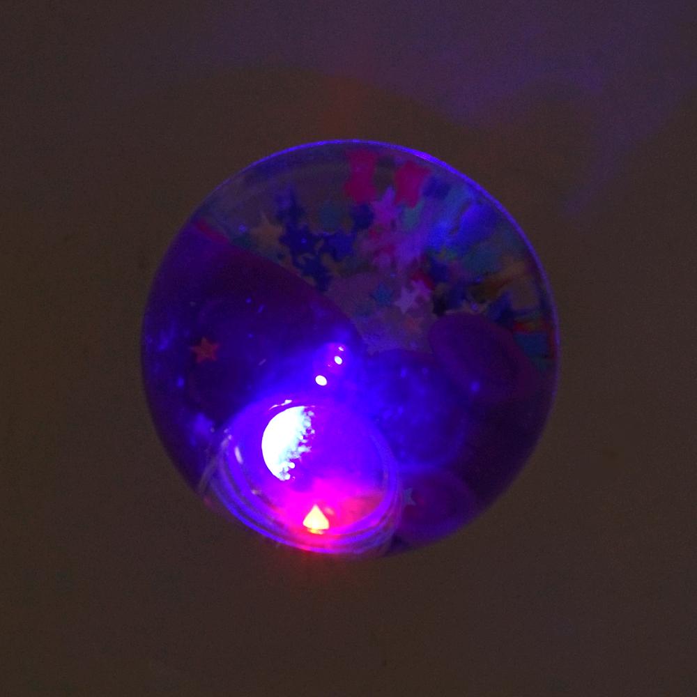 Мячик со светом и блестками, Play the Game, в ассортименте
