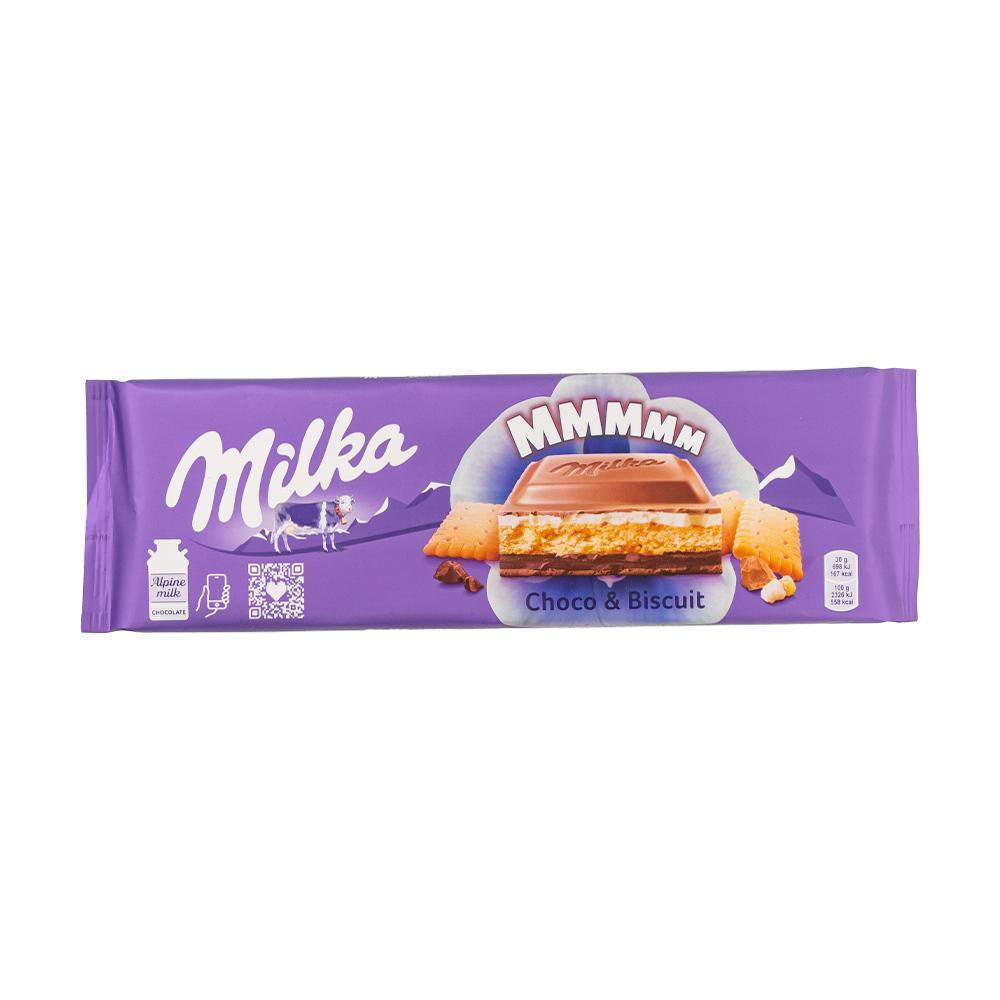 Шоколад молочный с начинкой, Milka, в ассортименте, 276/300 г