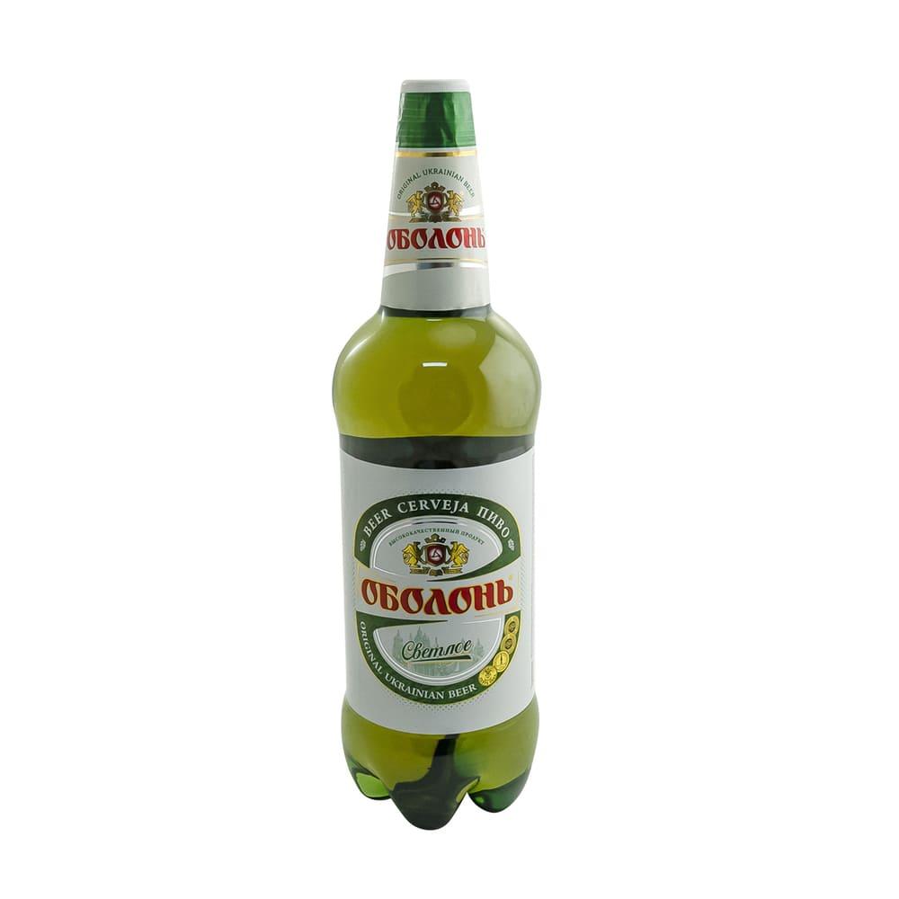 Пиво светлое, Оболонь, 4,5%, 1,35 л
