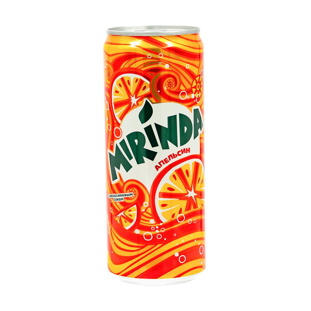 Напиток сильногазированный, Mirinda, 0,33 л
