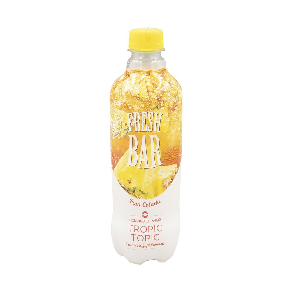"""Напиток газированный """"Пина Колада"""", Fresh Bar, безалкогольный, 0,48 л"""
