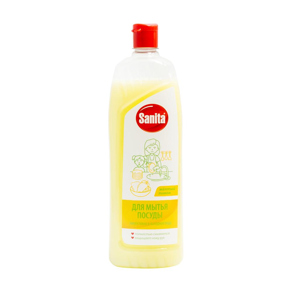 Средство для мытья посуды, Sanita, 1 л, в ассортименте