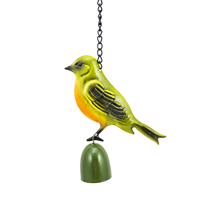 """Подвеска садовая с колокольчиком """"Птица"""", 25 см"""