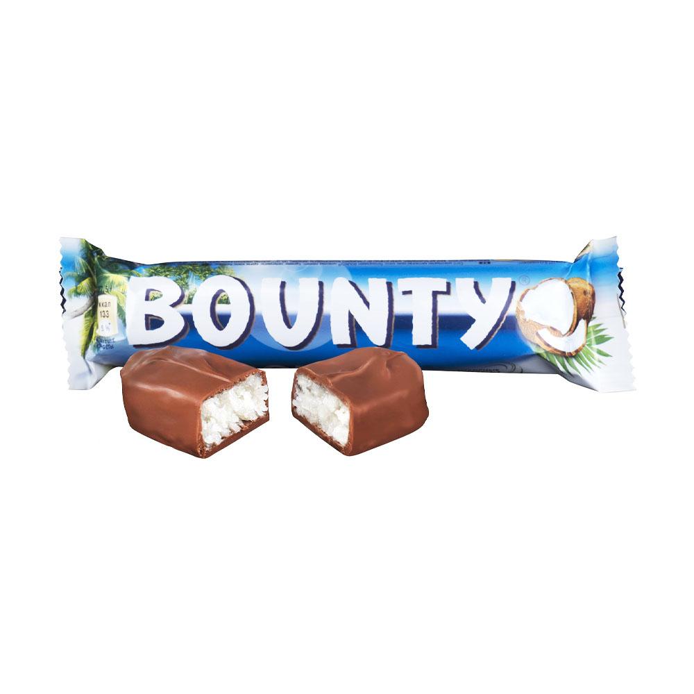 Шоколадный батончик, Bounty, 55 г