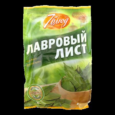 Лавровый лист «7 блюд», 10 г