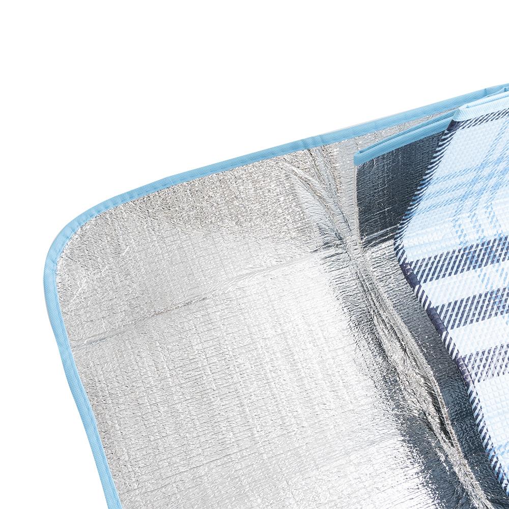 Коврик для пикника с чехлом для хранения, 100х180 см, в ассортименте