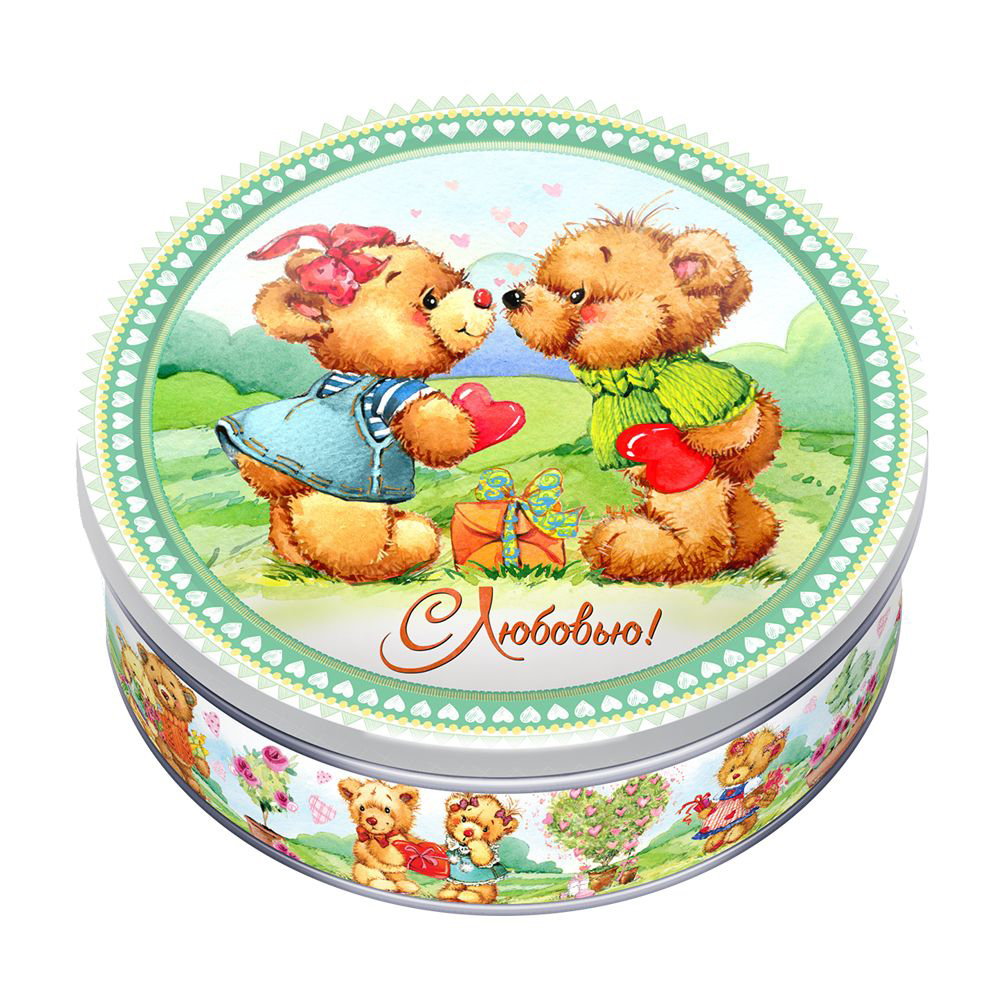 """Печенье сдобное """"Любимые мишки"""", 150 г, в ассортименте"""