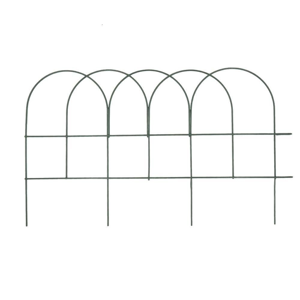 Забор садовый, Greenart, 40х25 см, 8 шт.