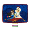 Настольный коврик для детского творчества и 3 фломастера, Kid's Fantasy, в ассортименте