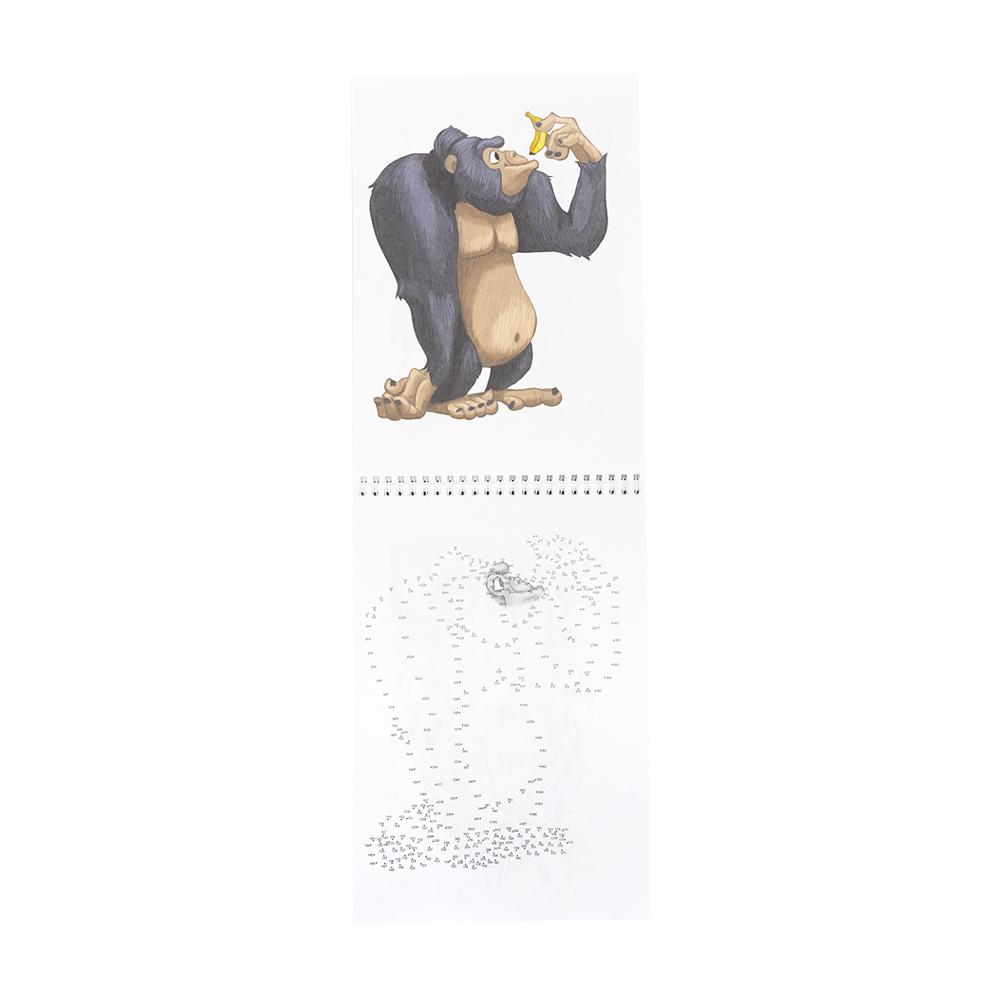 Альбом для рисования: рисуй по точкам и шагам, в ассортименте